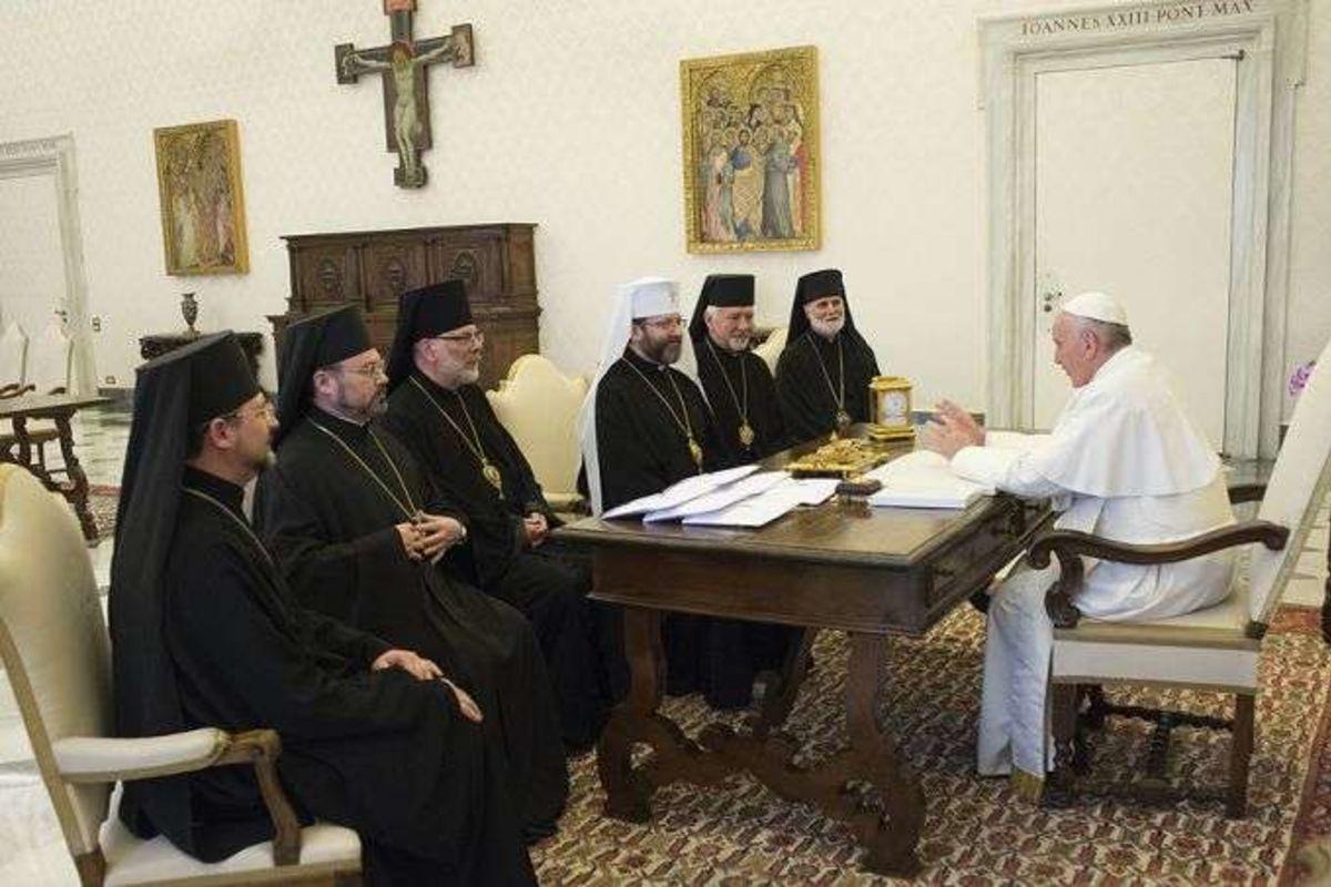 Сьогодні уВатикані розпочинається дводенна зустріч ієрархів УГКЦ зПапою Франциском