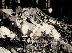Похорон отця Монастирського, село Киданів, вересень 1992 року