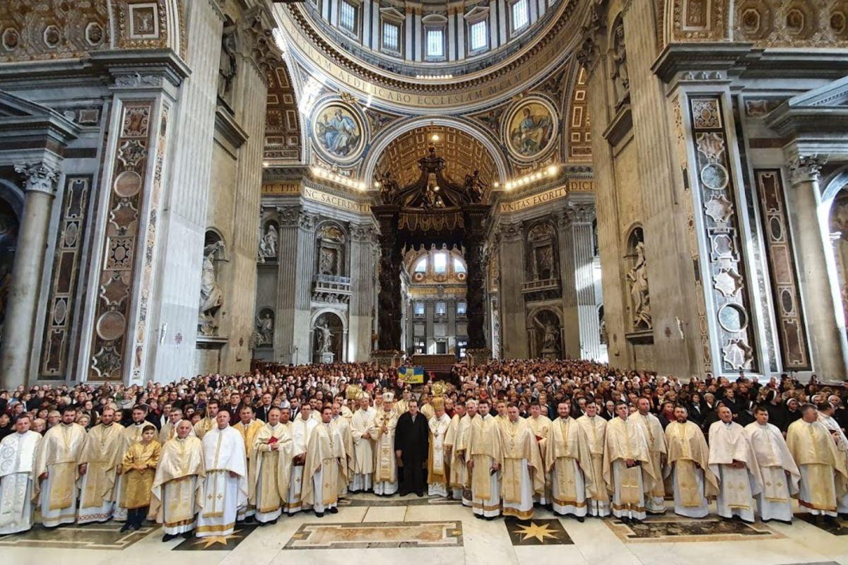 «Вчитись дивитися поглядом Ісуса»: Українська різдвяна проща уВатикані