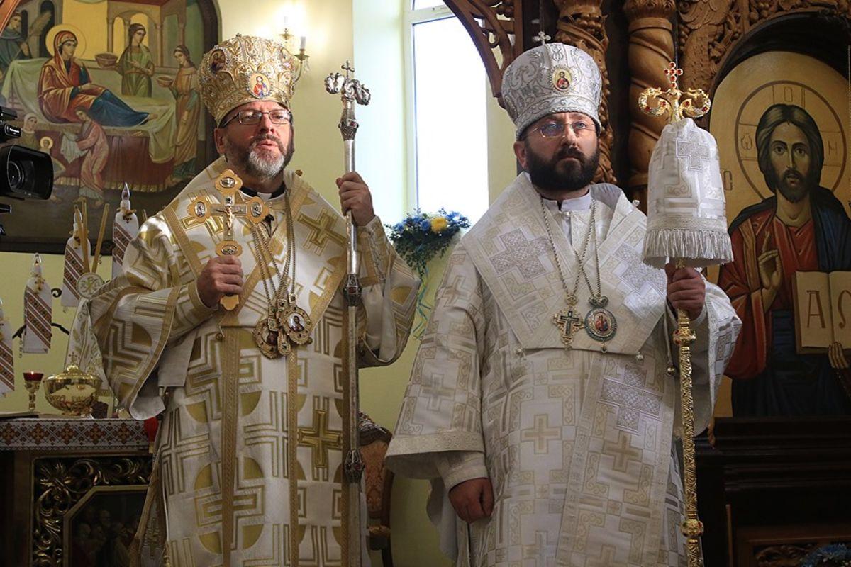 Глава УГКЦ уХмельницькому: «Небійся, тільки віруй!— саме ціслова Господь промовляє долюдини третього тисячоліття»
