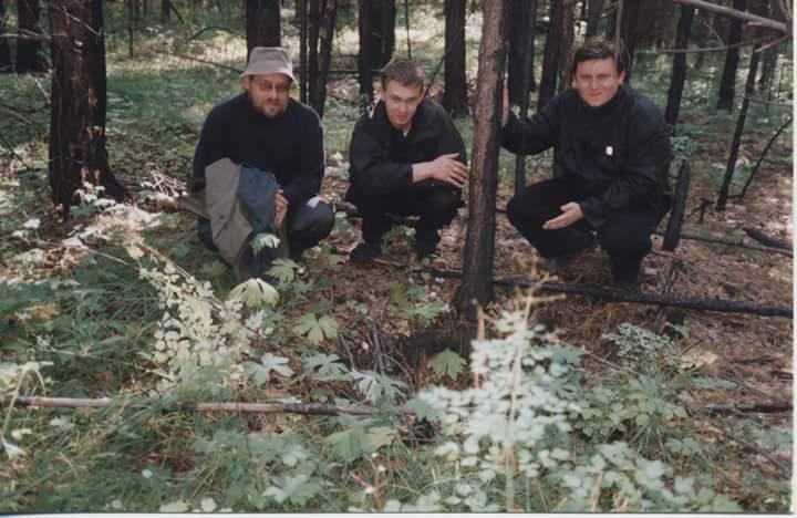 Ймовірне місце поховання о. Івана Зятика в Тайшетському районі, Іркутської області над озером Байкал