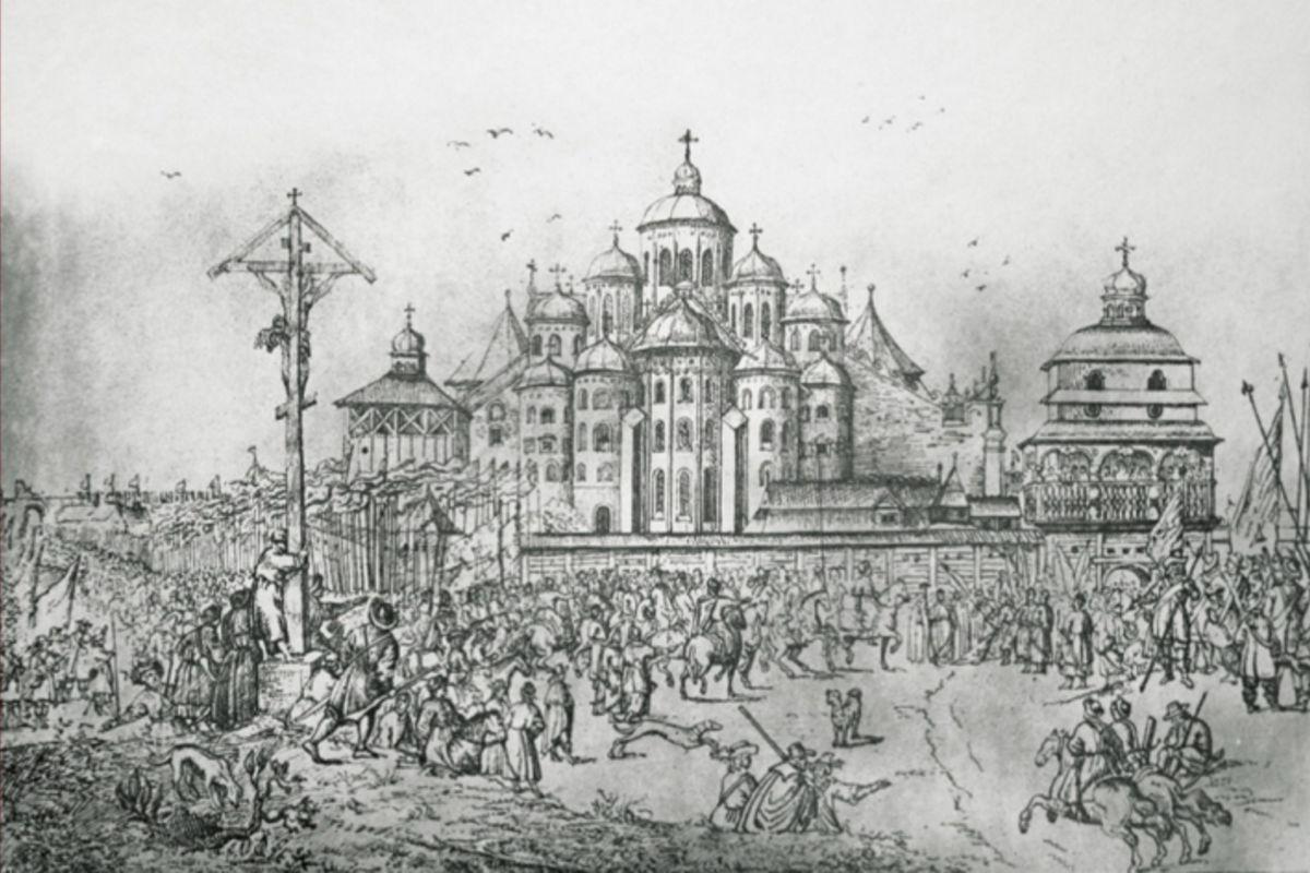 Свята Софія Київська— катедральний собор Унійної Церкви у1596–1633роках