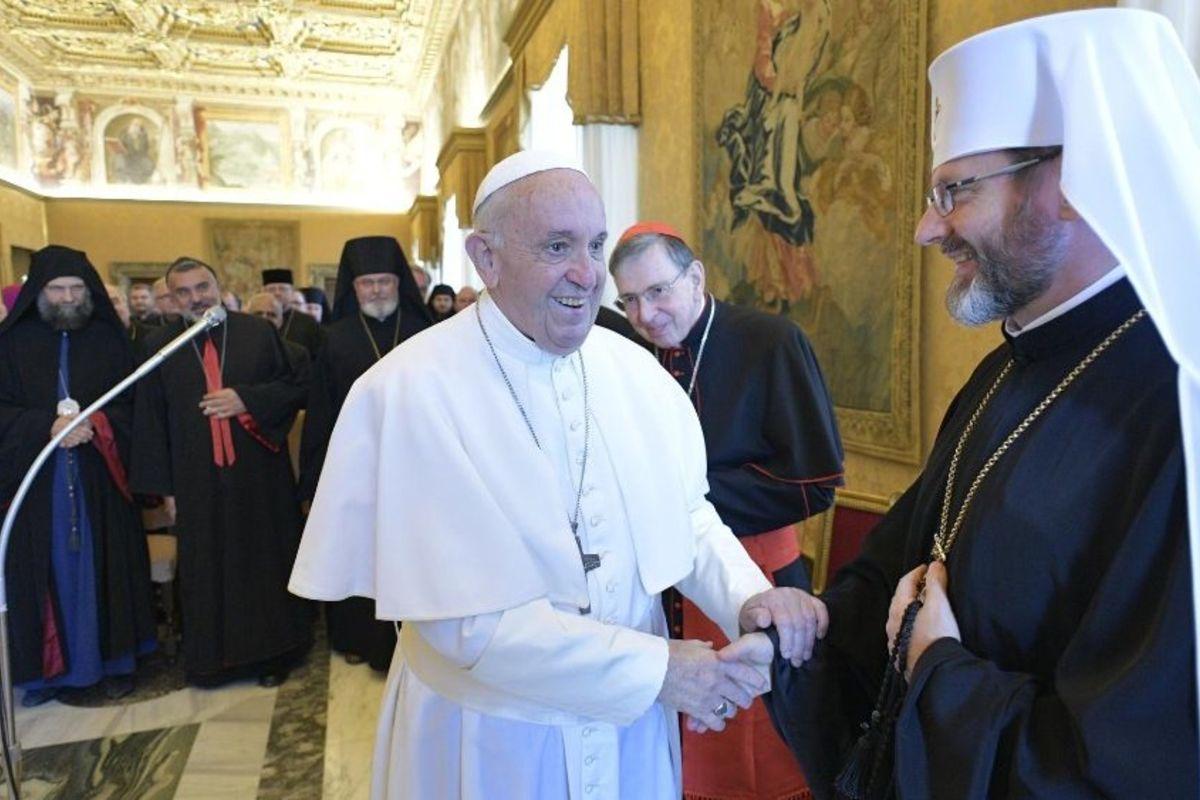 Папа Франциск доієрархів Східних Католицьких Церков: «Господь запитуватиме нас непро юрисдикцію, апро любов»